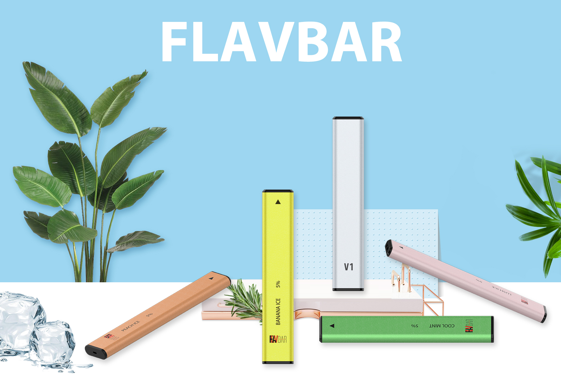Flavbar v1 pod disposable device is comes with ten flavors.